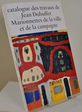 catalogue des travaux de Jean Dubuffet. Complete 38 volume set.