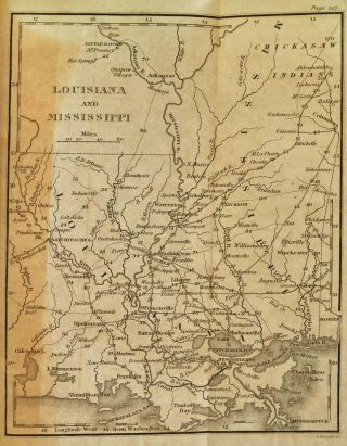 VIEW OF THE VALLEY OF THE MISSISSIPPI, or the Emigrant's and Travellers Guide to the West. Containing A General Description of that Entire Country; and also Notices of the Soil, Productions, Rivers, and other Channels of Intercourse and Trade...
