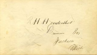 Autograph sentiment book from the 1860's with contributions by Eastman National Business College students (and others) including original artwork by renowned American artist Cassius M. Coolidge.