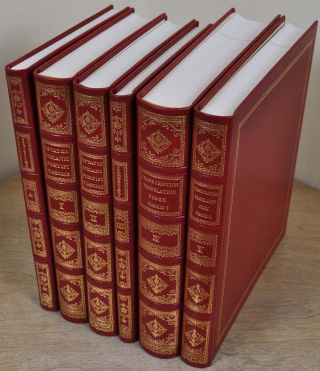 THE MADRID CODICES. Deluxe edition, limited and hand-numbered. Six volume set.