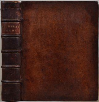 POEMS by C. Churchill. Containing The Rosciad, The Apology, Night, The Prophesy of Famine, An An...