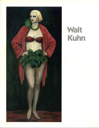 Walt Kuhn (1877-1949). Barridoff Galleries, Salander-O'Reilly Galleries