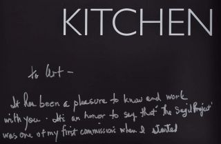 Kitchen Centric. Signed and inscribed by Mick De Giulio.