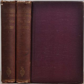 THE ALBERT N'YANZA, GREAT BASIN OF THE NILE, and Exploration of the Nile Sources. Two volume set....