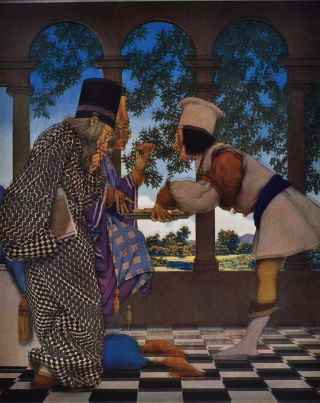 THE KNAVE OF HEARTS. With Pictures by Maxfield Parrish.