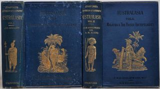 AUSTRALASIA. Stanford's Compendium of Geography and Travel. Australia and New Zealand. Malaysia...