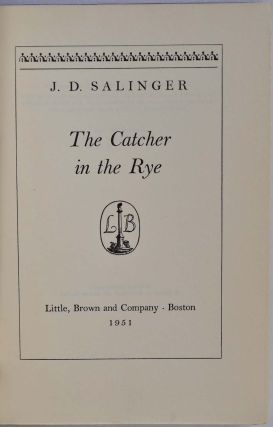 THE CATHER IN THE RYE.