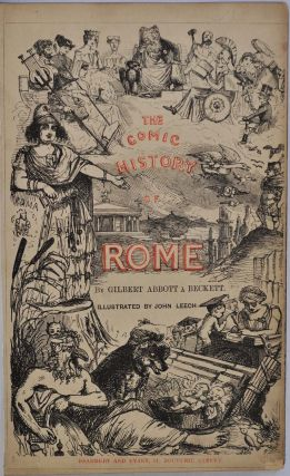 THE COMIC HISTORY OF ENGLAND (2 vols) [with] THE COMIC HISTORY OF ROME (1 vol).