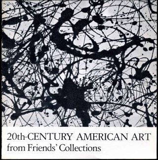 20th-Century American Art from Friends' Collections. Tom Armstrong
