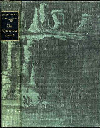 THE MYSTERIOUS ISLAND. Limited edition signed by Edward A. Wilson. Jules Verne, Edward A. Wilson