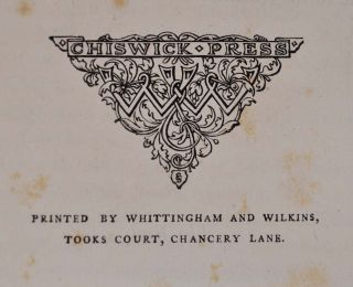 THE POETICAL WORKS OF JOHN MILTON. Printed from the Original Editions with a Life of the Author by A. Chalmers. With Twenty-four Illustrations by John Martin.