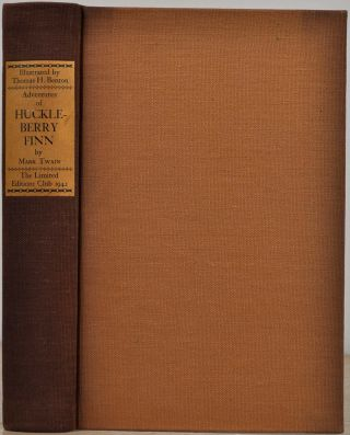 THE ADVENTURES OF HUCKLEBERRY FINN [Tom Sawyer's Companion]. Limited edition signed by Thomas...