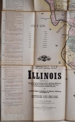 HISTORY OF ILLINOIS, To Accompany An Historical Map of the State.