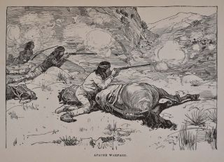 AN APACHE CAMPAIGN IN THE SIERRA MADRE. An Account of the Expedition in Pursuit of the Hostile Chiricahua Apaches In the Sping of 1883.