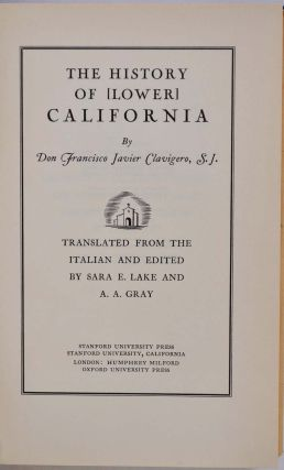 THE HISTORY OF [LOWER] CALIFORNIA.