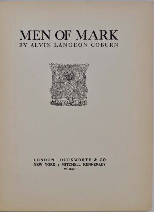 MEN OF MARK.