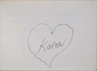 ARE YOU HAPPY? And Other Questions Lovers Ask. Signed and with a sketch by Edward Koren.