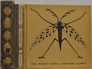 THE VINEGAR WORKS. Three Volumes of Moral Instruction. The Gashlycrumb Tinies. The Insect God. The West Wing. Edward Gorey.