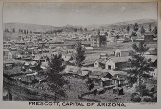 THE RESOURCES OF ARIZONA. Its Mineral, Farming, Grazing and Timber Lands; Its History, Climate, Productions, Civil and Military Government, Pre-Historic Ruins, Early Missionaries, Indian Tribes, Pioneer Days, Etc.