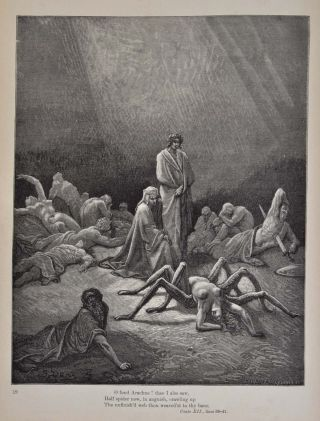 PURGATORY AND PARADISE. Translated by the Rev. Henry Francis Cary, M.A. from the original of Dante Alighieri and Illustrated with the Designs of M. Gustave Dore. New Edition with Critical and Explanatory Notes.