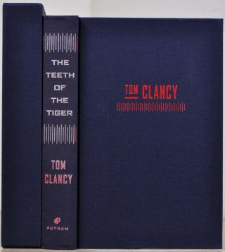 THE TEETH OF THE TIGER. Limited edition signed by Tom Clancy