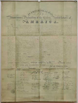 The Unanimous Declaration of the Thirteen United States of America in Congress July 4th 1776. THE...