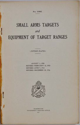 SMALL ARMS TARGETS AND EQUIPMENT OF TARGET RANGES (Fifteen Plates). Form No. 1992.
