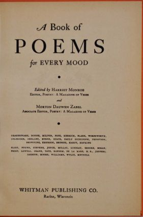 POEMS FOR EVERY MOOD.