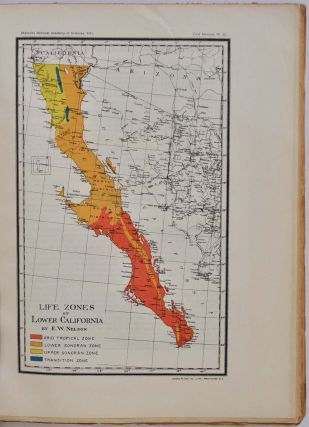 LOWER CALIFORNIA AND ITS NATURAL RESOURCES. National Academy of Sciences. Volume XVI. First Memoir.