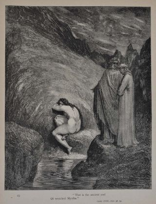 Altemus' Edition. DANTE'S INFERNO Illustrated by Gustave Dore. Translated from the Original of Dante Alighieri by Henry Francis Cary.