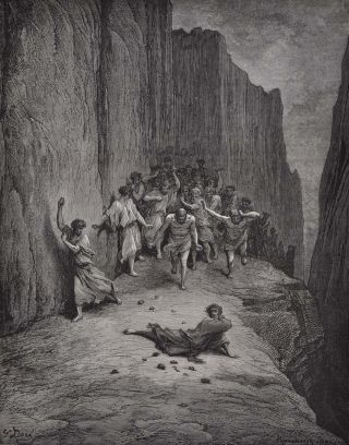 DANTE'S PURGATORY AND PARADISE. Illustrated by Gustave Dore. Translated by Henry Francis Cary from the Original of Dante Alighieri. New Edition with Critical and Explanatory Notes.