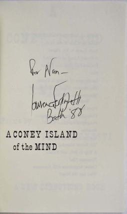 A CONEY ISLAND OF THE MIND. POEMS. Signed by Lawrence Ferlinghetti.
