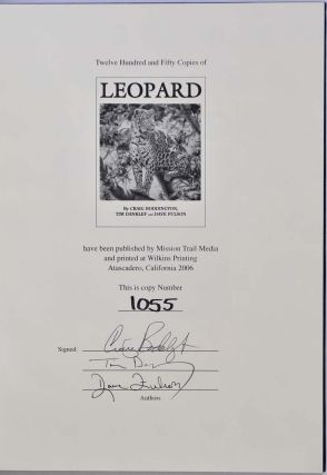 LEOPARD. Limited edition signed by Craig Boddington, Tim Danklef, and Dave Fulson.