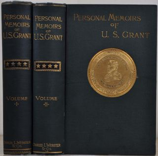 PERSONAL MEMOIRS OF U. S. GRANT. Two volume set. Ulysses Simpson Grant