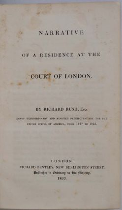 NARRATIVE OF A RESIDENCE AT THE COURT OF LONDON.