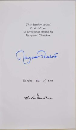 THE PATH TO POWER. Limited edtion signed by Margaret Thatcher.