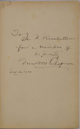 LIFE IN AN AIR CASTLE. Signed and inscribed by Frank M. Chapman.
