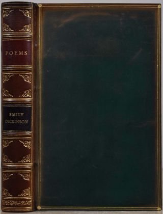 POEMS OF EMILY DICKINSON. Edited Martha Dickinson Bianchi and Alfred Leete Hampson. Emily Dickinson