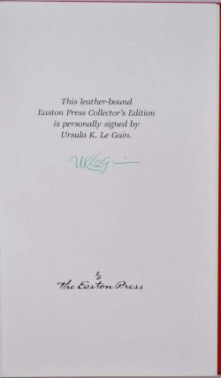 THE LEFT HAND OF DARKNESS. Limited edition signed by Ursula K. Le Guin.
