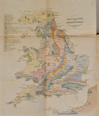 OUTLINES OF THE GEOLOGY OF ENGLAND AND WALES, with an Introductory Compendium of the General Principles of that Science, and Comparative Views of the Structure of Foreign Countries. Illustrated by a Coloured Map and Sections.