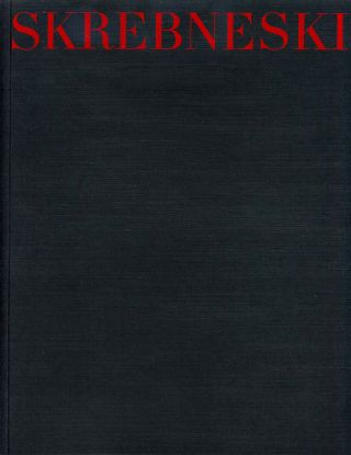 SKREBNESKI. Gallery of the Art Institute of Chicago. Exhibition Catalogue. June 9-August 11,...