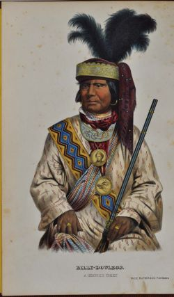 HISTORY OF THE INDIAN TRIBES OF NORTH AMERICA, With Biographical Sketches And Anecdotes Of The Principal Chiefs. Two volumes of a three volume set.