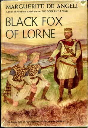Black fox of Lorne. Marguerite b. 1889 De Angeli
