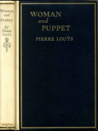Woman and puppet. Illustrations by William Siegel. Pierre Louys