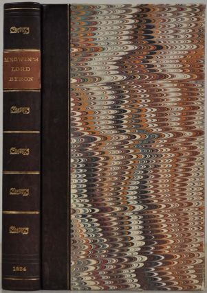 Journal of the Conversations of Lord Byron: Noted during a Residence with His Lordship at Pisa,...