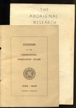 Souvenir 1935-1945. Aboriginal Research Club