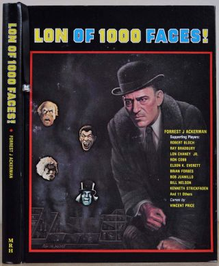 LON of 1000 FACES! Signed and limited edition with make-up capsule. Forrest J. Ackerman, Robert...