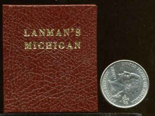 MEMORIES OF MICHIGAN. Signed by the printer. Charles Lanman