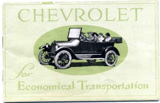 Chevrolet for economical transportation. Chevrolet Motor Company