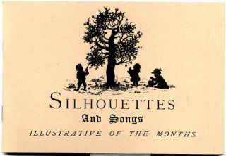 Silhouettes and songs illustrative of the months. Twelve designs by Helen Maria Hinds. Edward E....